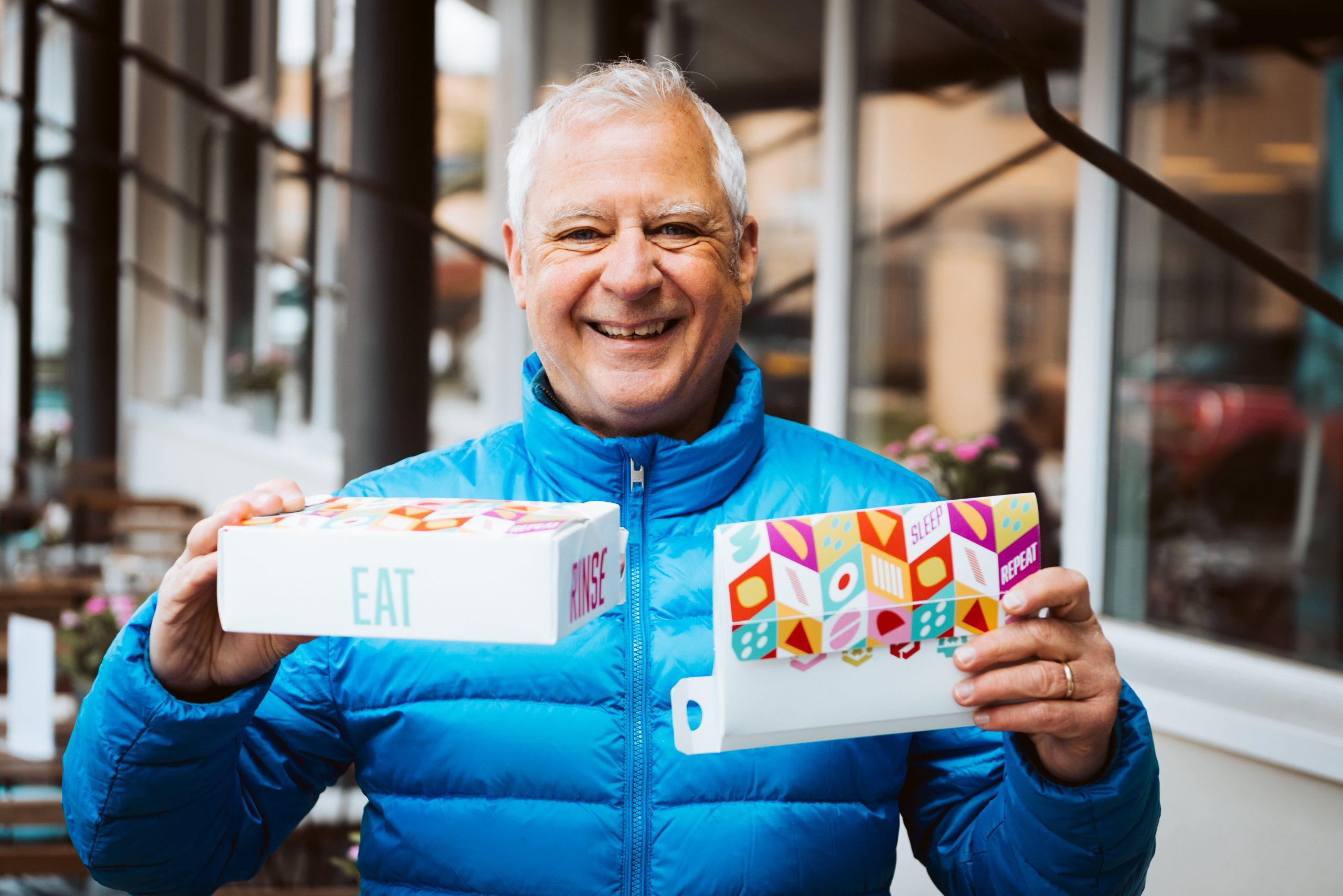 Eddie Stableford, creator of Street Food Box